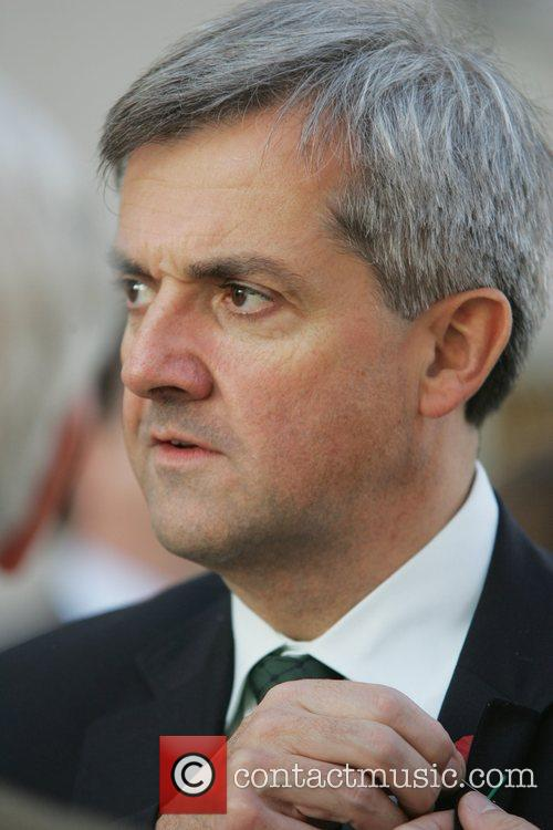 Chris Huhne attends the Liberal democrat leadership hustings...