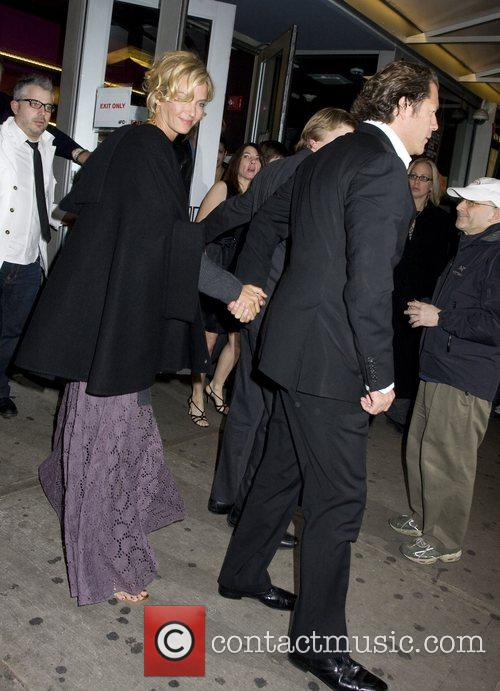 Uma Thurman and Arpad Busson 2