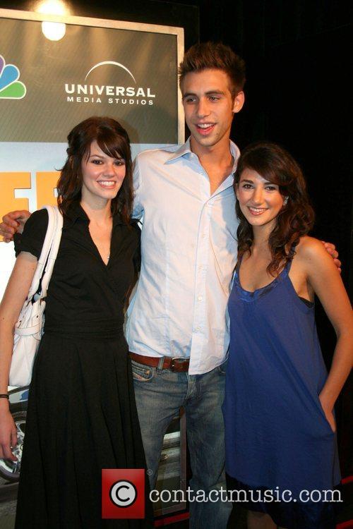 Rachel Melvin, Blake Berris, and Guest,  NBC'S...