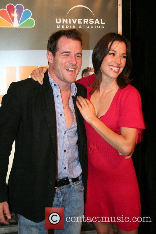 Derrick Phillips and Brooke Langton,  NBC'S