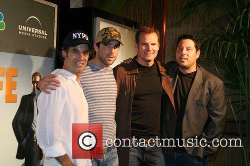 Adrian Pasdar, Zachary Quinto, Jack Coleman, and Greg...