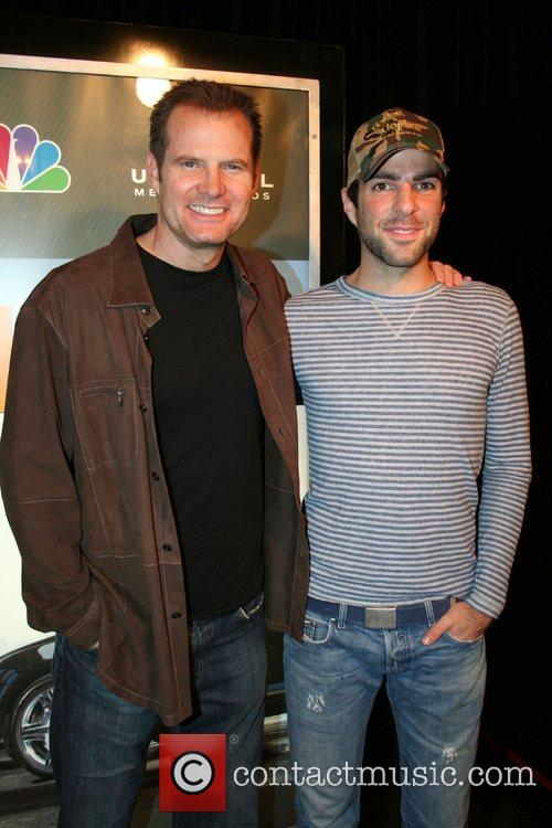Jack Coleman and Zachary Quinto,  NBC'S