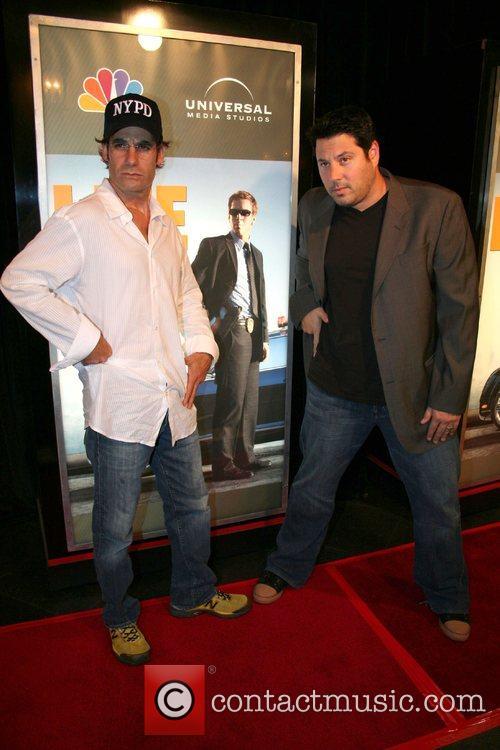 Adrian Pasdar and Greg Grunberg,  NBC'S