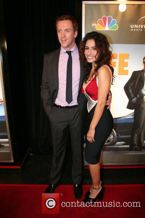 Damian Lewis and Sarah Shahi 3