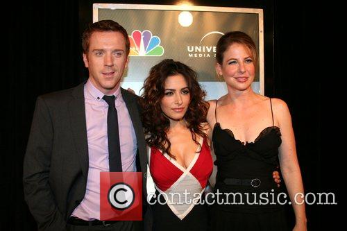 Damian Lewis and Sarah Shahi 4