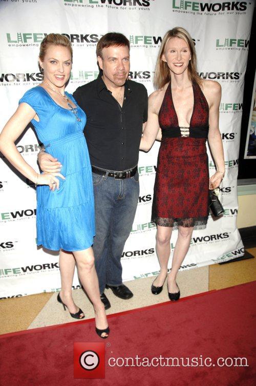 Elaine Hendrix, Jason Stuart and Andrea James 6