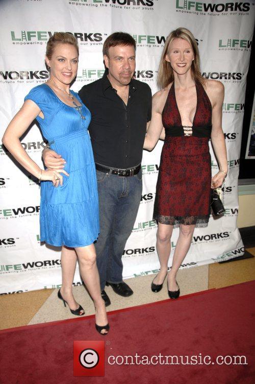 Elaine Hendrix, Jason Stuart and Andrea James 2