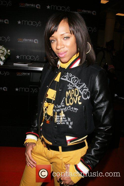 Lil Mama at the Akademiks shop at 'Macy's...