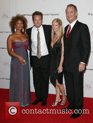 Tanika Ray and Matthew Perry 3