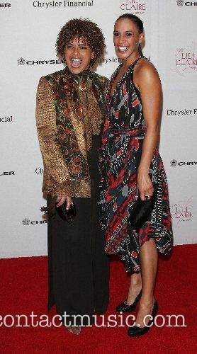 Shari Belafonte and guest attending the 'Lili Claire...