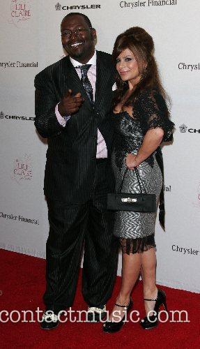 Randy Jackson and Paula Abdul attending the 'Lili...