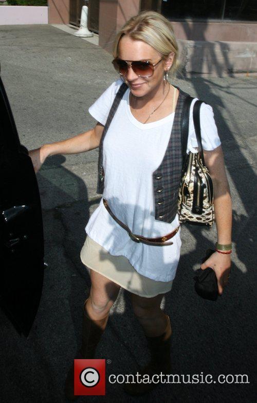 Lindsay Lohan Fresh out of a Utah rehab...