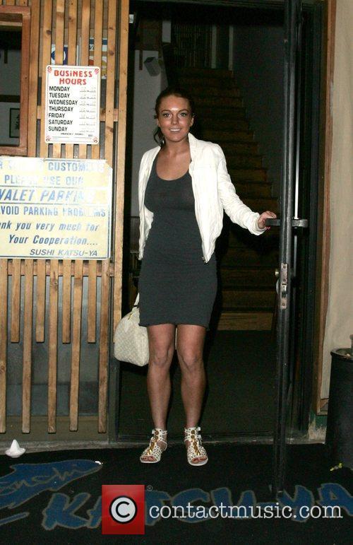 Leaving Katsuya Restaurant on Ventura Blvd wearing no...