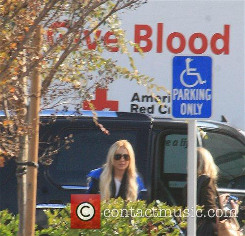 Lindsay Lohan arrives for her community service at...