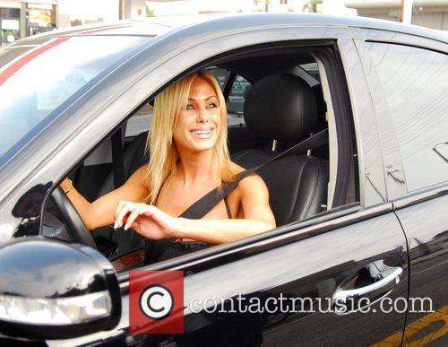 Shauna Sand-Lamas got caught in traffic as Lindsay...