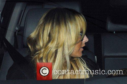 Lindsay Lohan leaving Neil George Salon in Beverly...