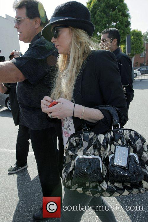 Lindsay Lohan leaving a jewellery store in Beverly...