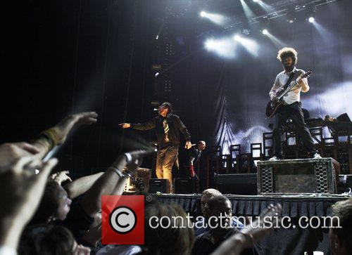 Linkin Park  performing live in concert at...