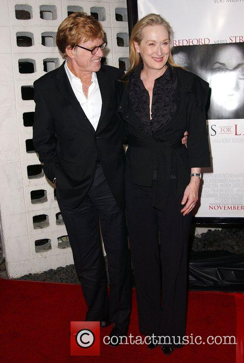 Meryl Streep and Robert Redford