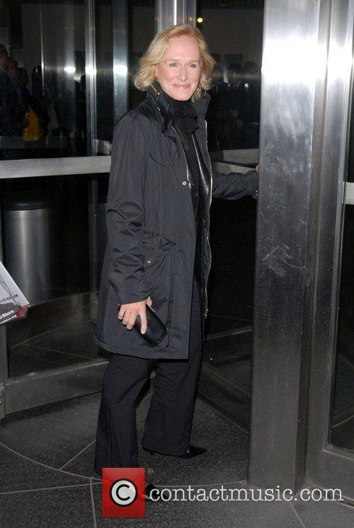 Glenn Close at the 'Lions For Lambs' screening...