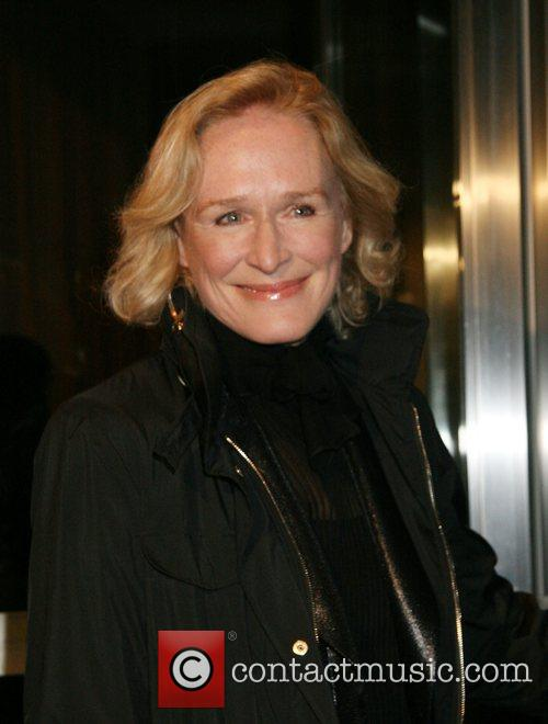 Glenn Close Celebrities at the 'Lions For Lambs'...