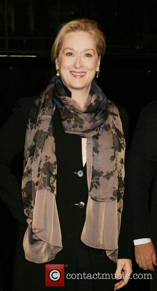 Meryl Streep Celebrities at the 'Lions For Lambs'...