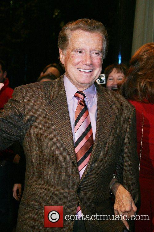 Regis Philbin Celebrities at the 'Lions For Lambs'...
