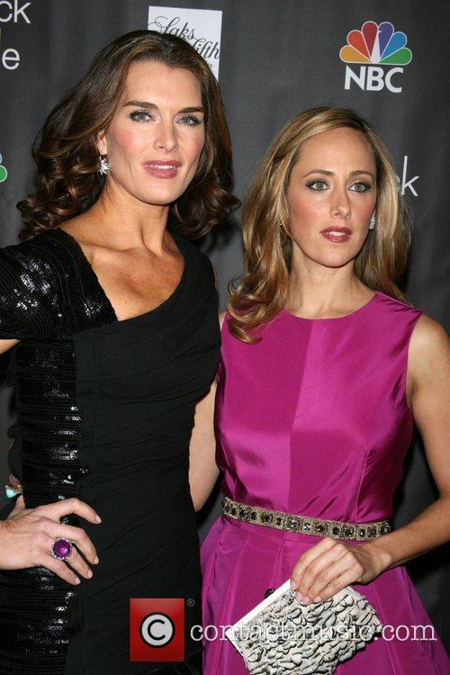 Brooke Shields and Kim Raver Premiere of NBC's...
