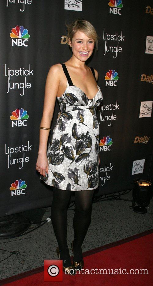 Katrina Bowden Premiere of NBC's 'Lipstick Jungle' at...
