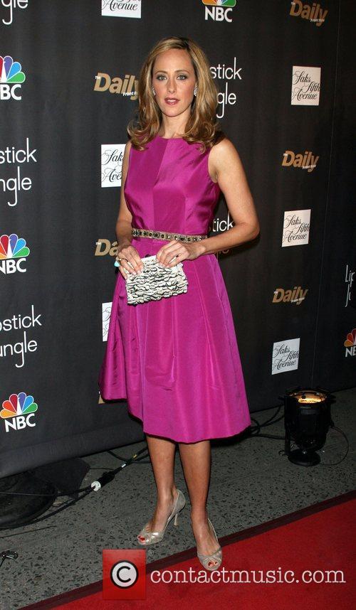 Kim Raver Premiere of NBC's 'Lipstick Jungle' at...