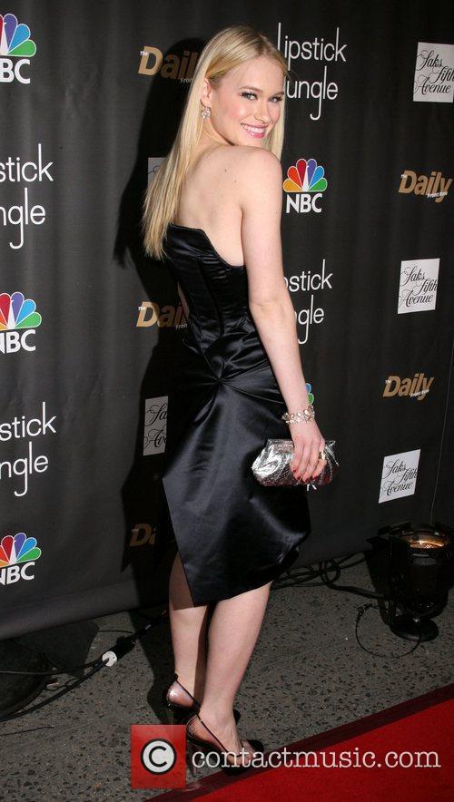 Laven Rambin Premiere of NBC's 'Lipstick Jungle' at...