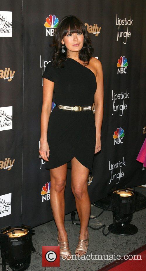 Lindsay Price Premiere of NBC's 'Lipstick Jungle' at...