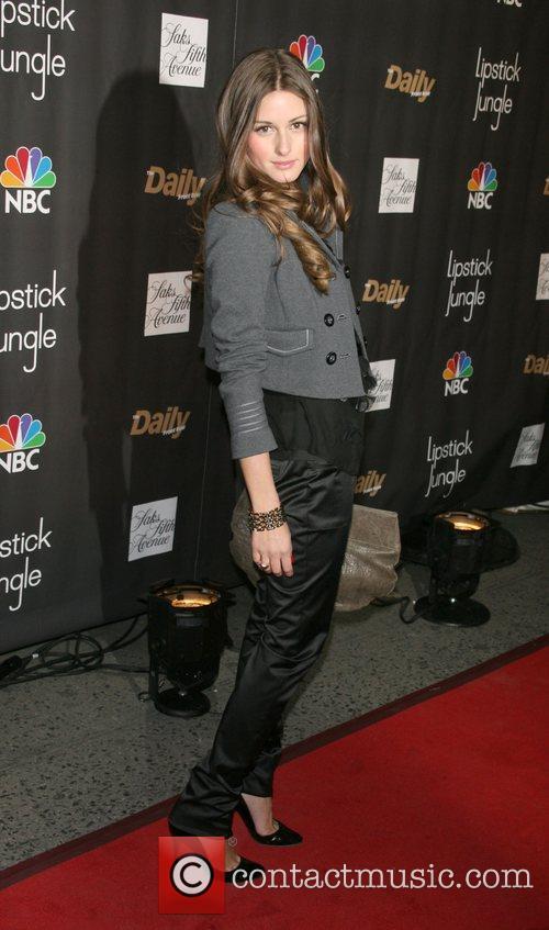 Olivia Pelermo Premiere of NBC's 'Lipstick Jungle' at...