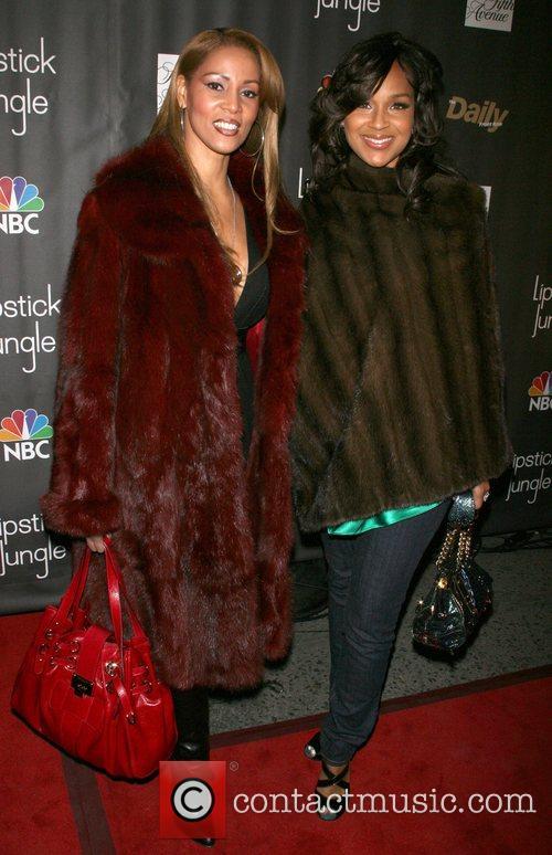 Roslin Mitchell and Lisa Raye Premiere of NBC's...