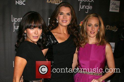 Premiere of NBC's 'Lipstick Jungle' at Saks Fifth...