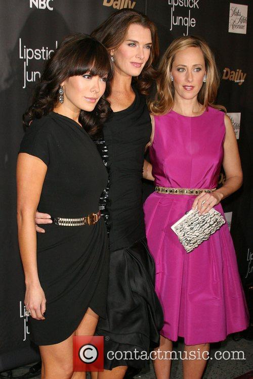 Lindsay Price, Brooke Shields, Kim Raver Premiere of...