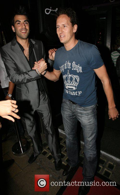 Brendan Cole Lipsy Party held at Jewel Club...