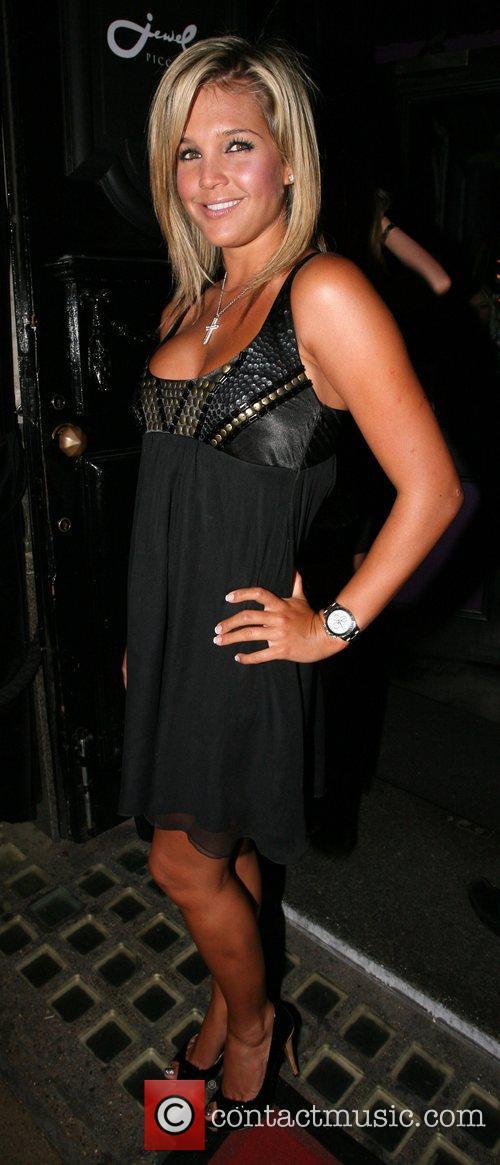 Danielle Lloyd Lipsy Party held at Jewel Club...