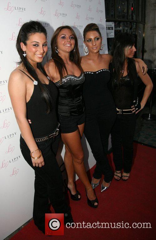 Guests Lipsy Party held at Jewel Club London,...