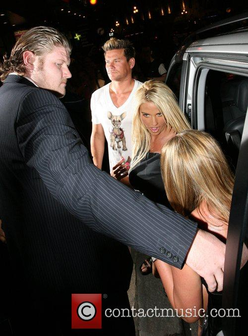 Katie Price Lipsy Party held at Jewel Club...