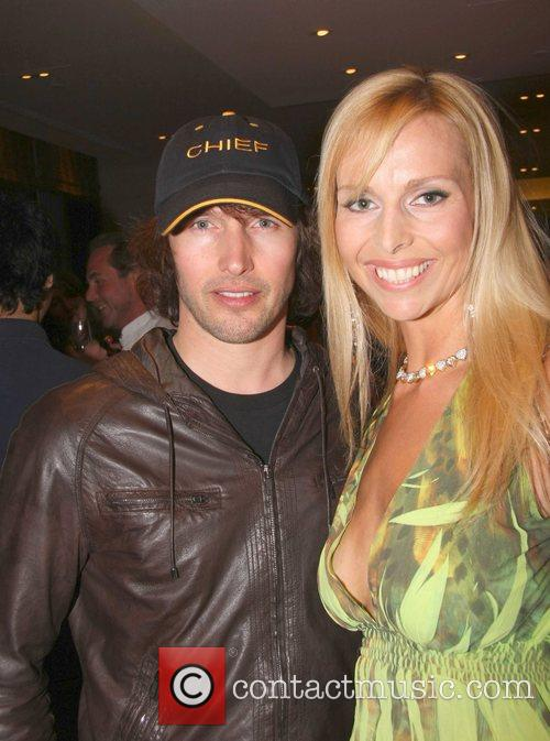 James Blunt and Anneka Svenska Book launch party...