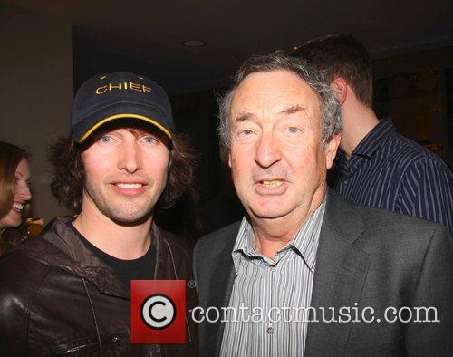 James Blunt and Nick Mason Book launch party...