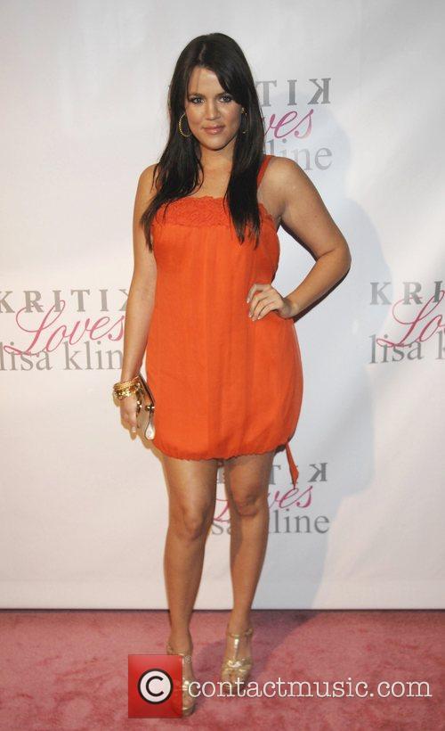 Khloe Kardashian Jonathan Cheban and Lisa Kline Celebrate...