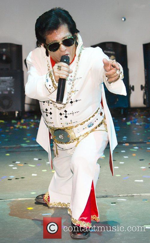 Little Elvis performing in Little Legends, Little People,...