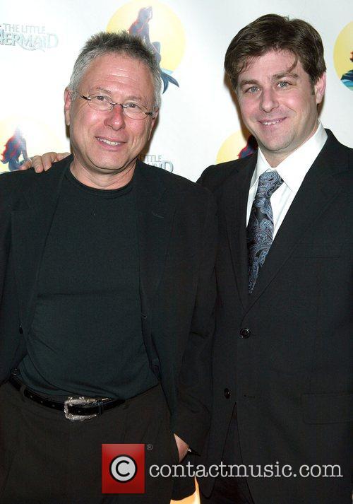 Alan Menken & Glenn Slater arrive at the...