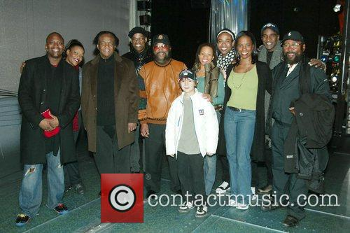 Holland-Dozier-Holland visits the cast of the Broadway musical...