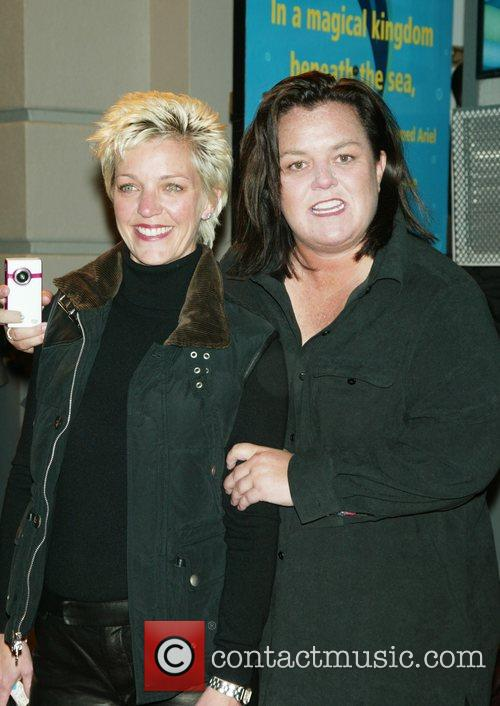 Kelli Carpenter and Rosie O'Donnell  at the...