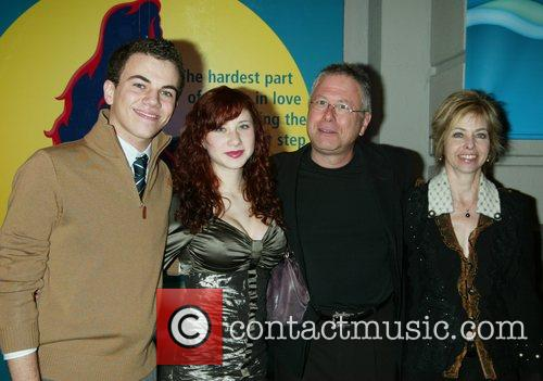 Alan Menken and Family at the opening night...