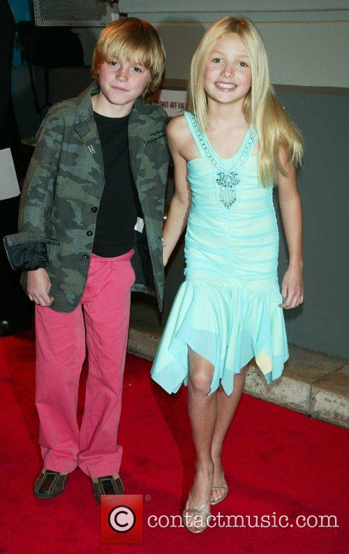 Spencer List and Peyton List  at the...