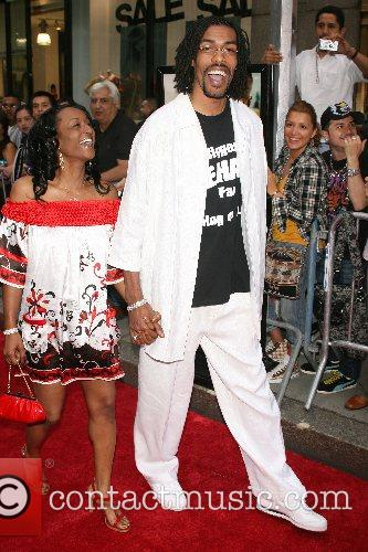 Mikki Moore, Wife New York Premiere of 'Live...